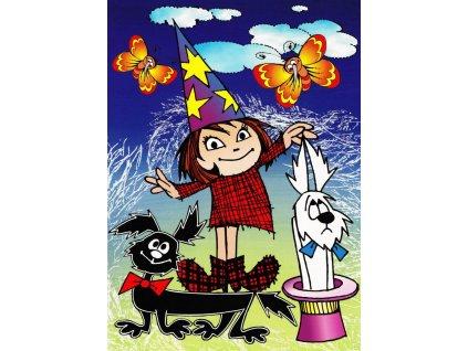 Pohlednice Štaflík, Špagetka a Malá čarodějnice 1
