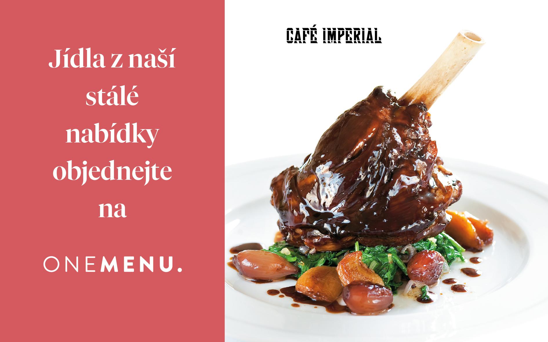 One menu Koleno