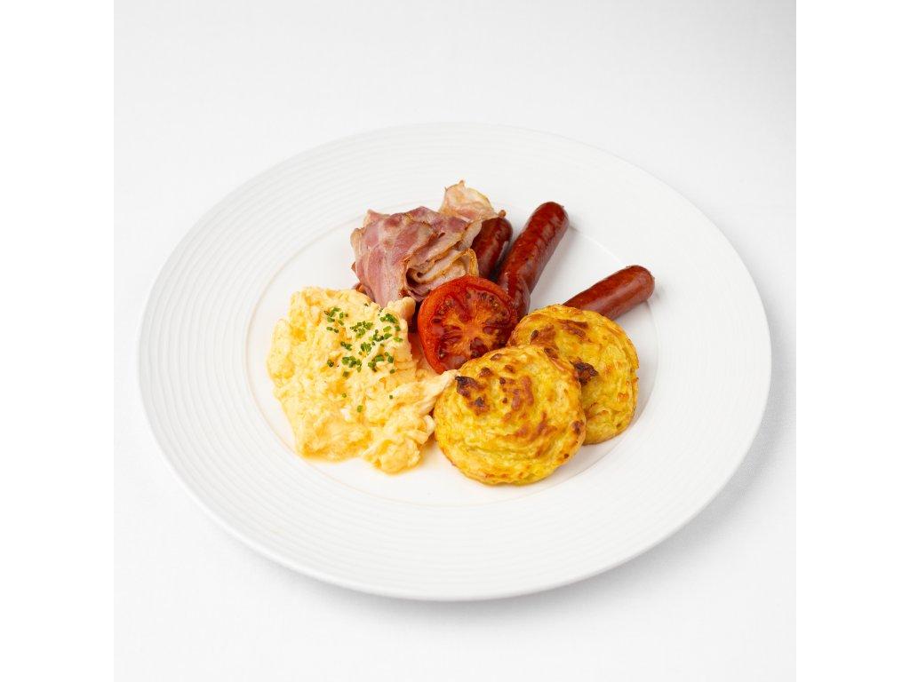 Snídaně 01 - Americká snídaně