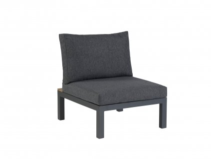 CH612CAEFSC LA VIDA LOUNGE (antracite) chair