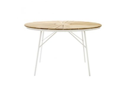 Ellen stôl skladací biely
