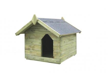 Psia búda s otváracou strechou