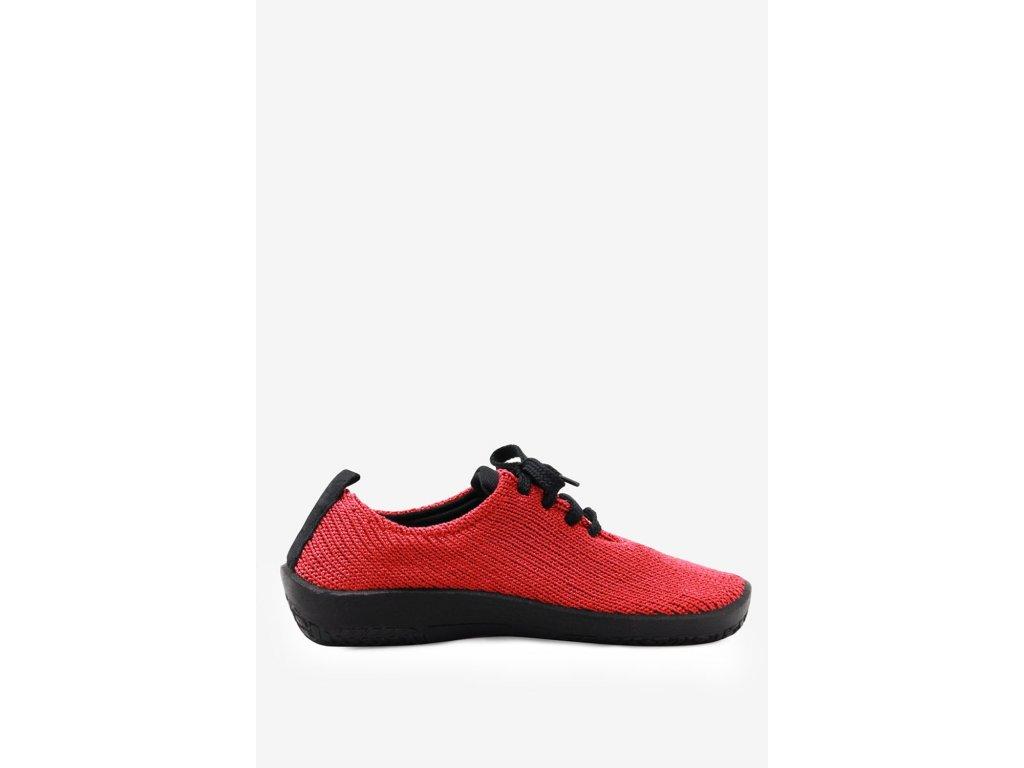 Arcopedico 1151 06 úpletová dámská obuv červená zdravotní obuv