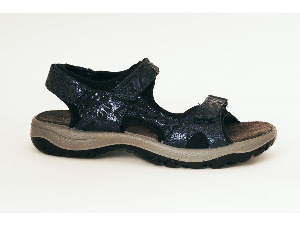 Santé IC509791 dámské sandály modrá