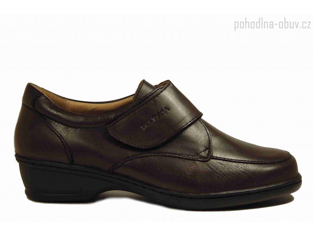 Pk-Rega 11001 hnědé kožené boty