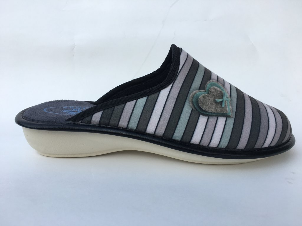 Santé LX/324 dámská domácí obuv, béžová mix