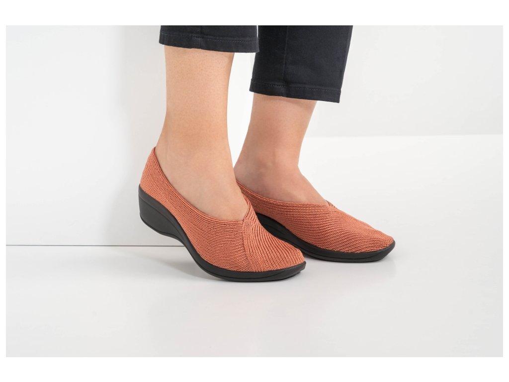 Arcopedico 1711 Mailu D61 cihlové pohodlné boty