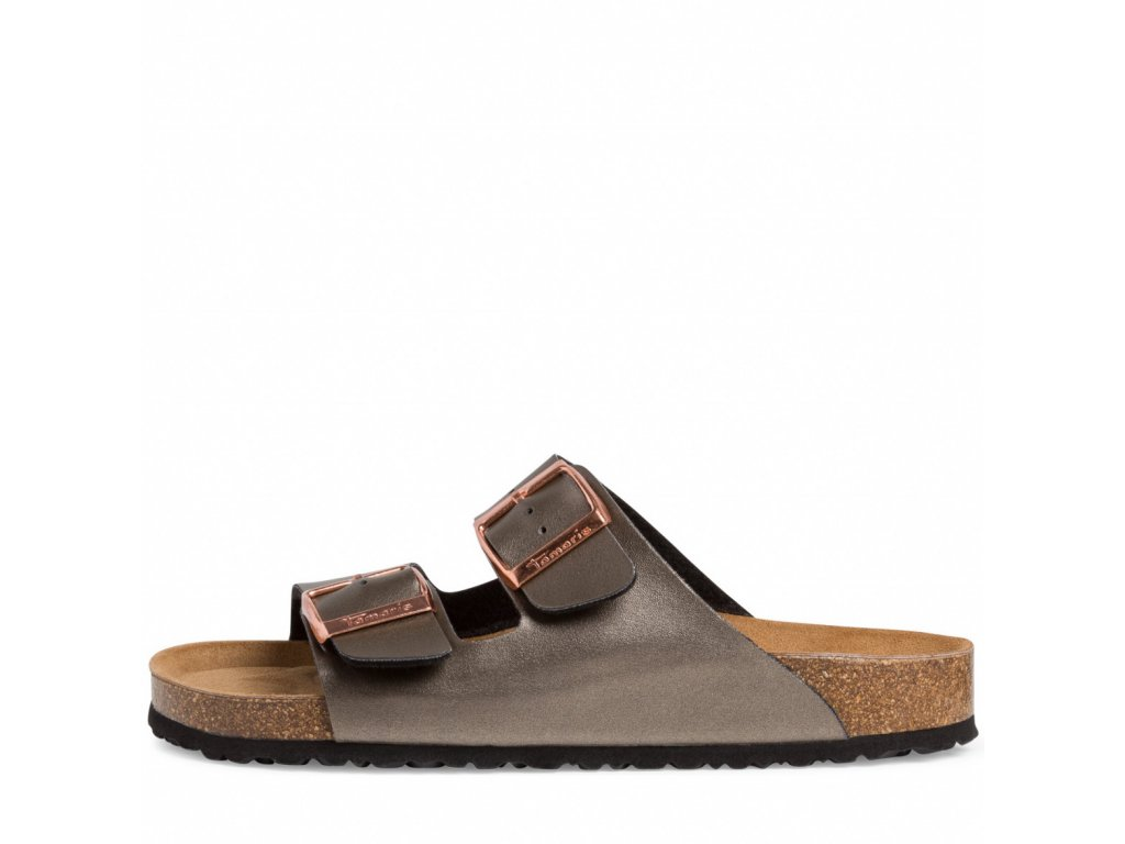Tamaris 27503 dámské pantofle antracit