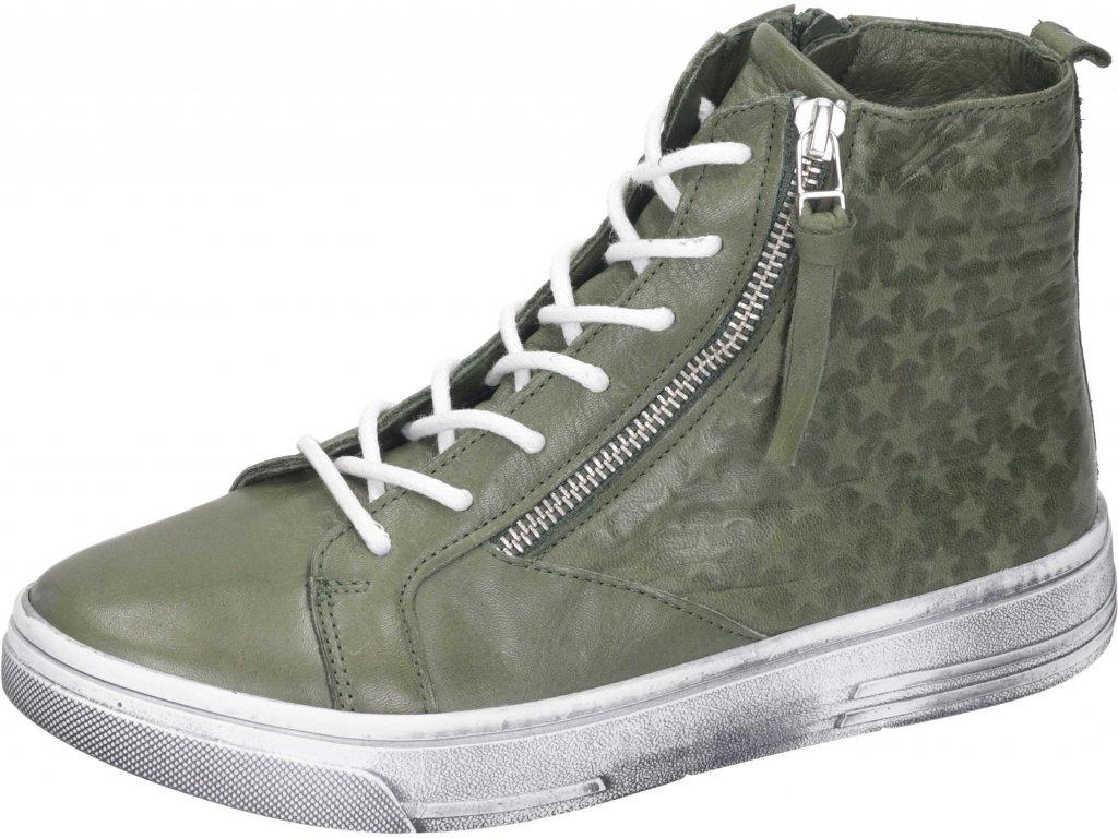 Manitu 990082 07 dámská kotníková obuv zelená