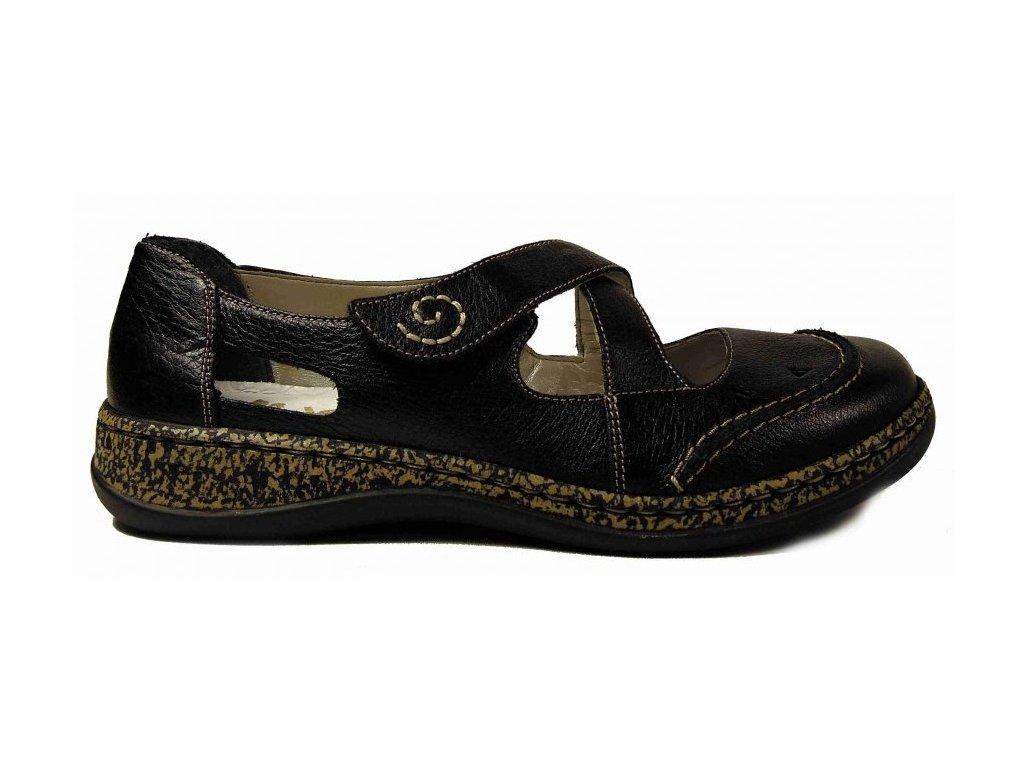 Rieker 46335-00 vycházkové boty