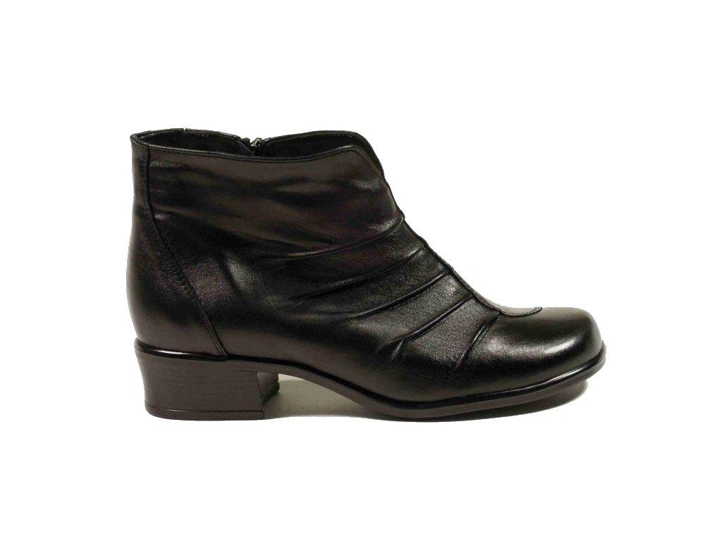 Tanex 1567/Aniela zimní kožená obuv šíře H