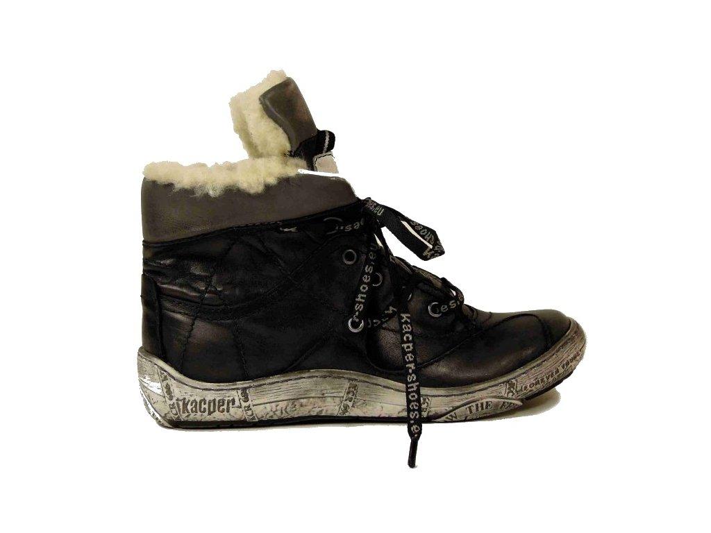 bd7f9736b57b Kacper 4-4934 zimní kožená obuv - Pohodlná Obuv