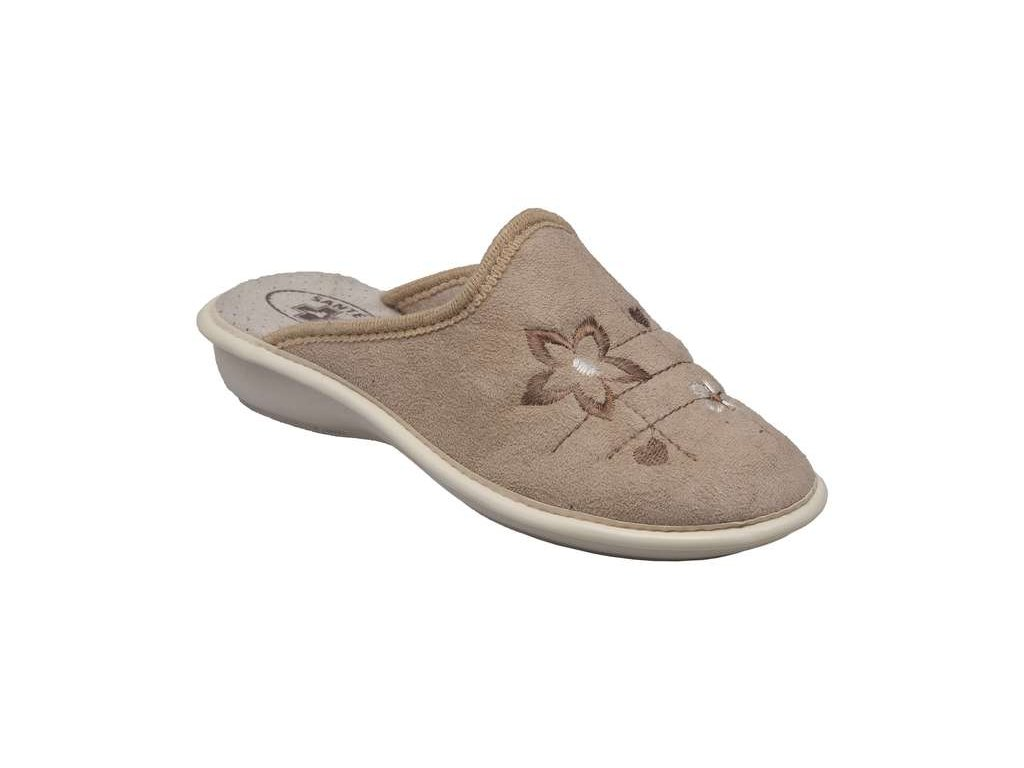 ea5e34517d1 Santé LX 214 beige domácí obuv - Pohodlná Obuv