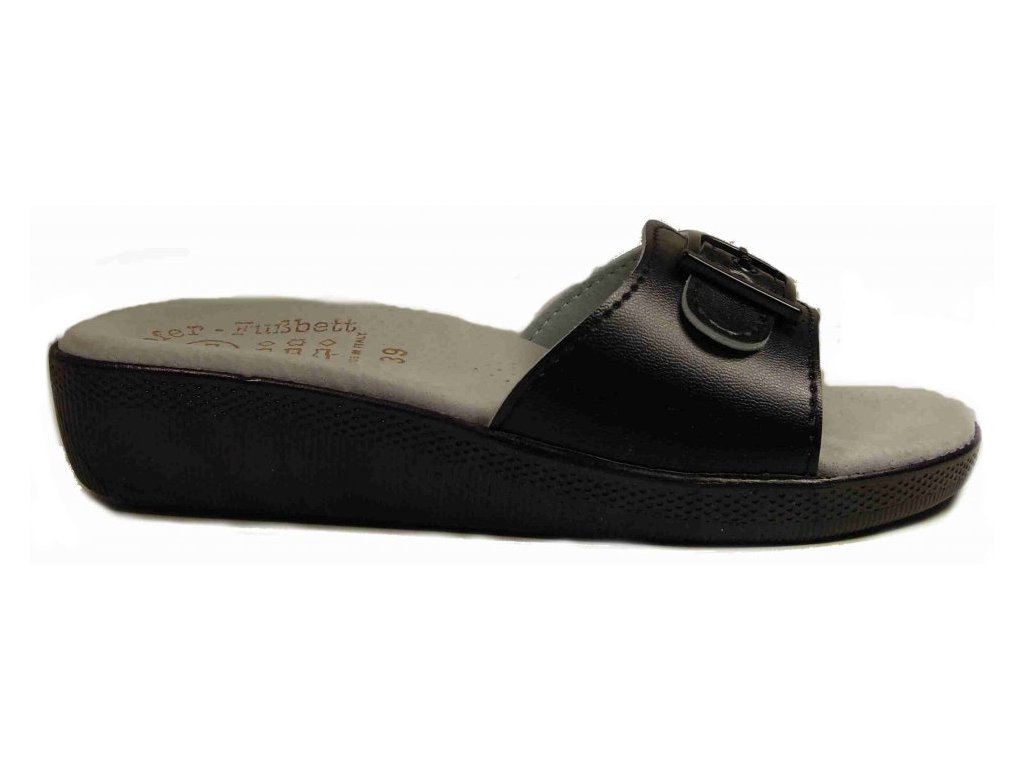 Santé SI/03D1 černé zdravotní pantofle