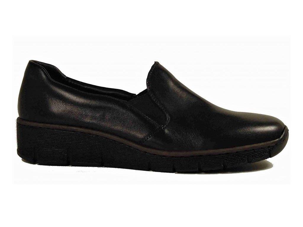 Rieker 53766-00 dámské vycházkové boty