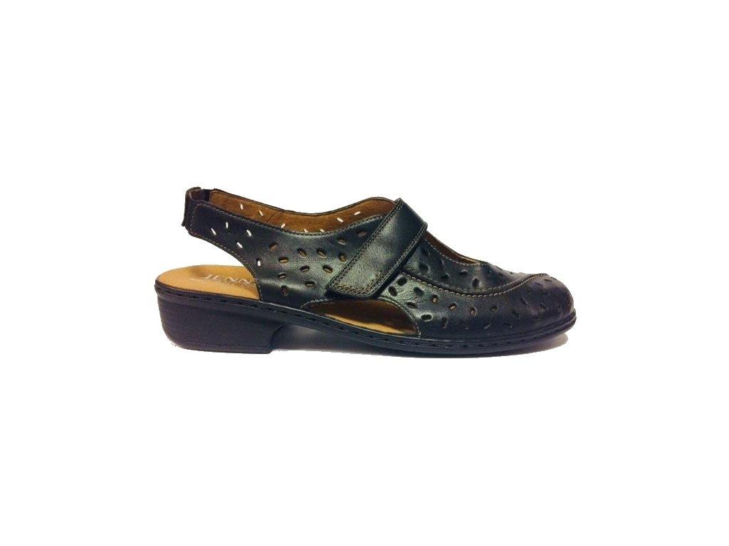 Jenny Ara 22-52758-07 black letní vycházkové boty