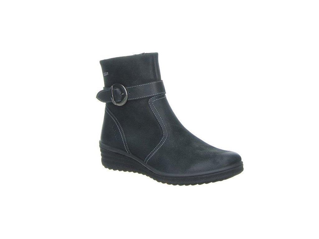 Legero 7-00561-00 kotníkové podzimní boty na klínu