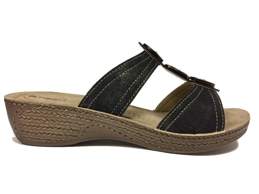 INBLU GL 8-014 nero letní boty