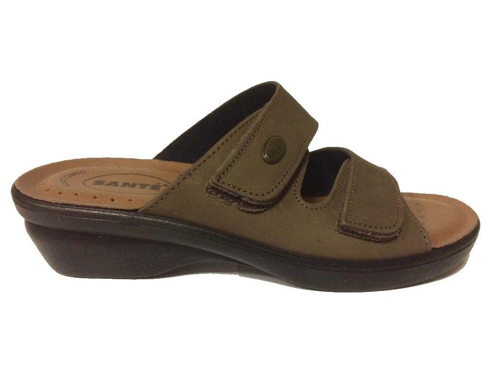 Santé PO/5140 hnede pantofle