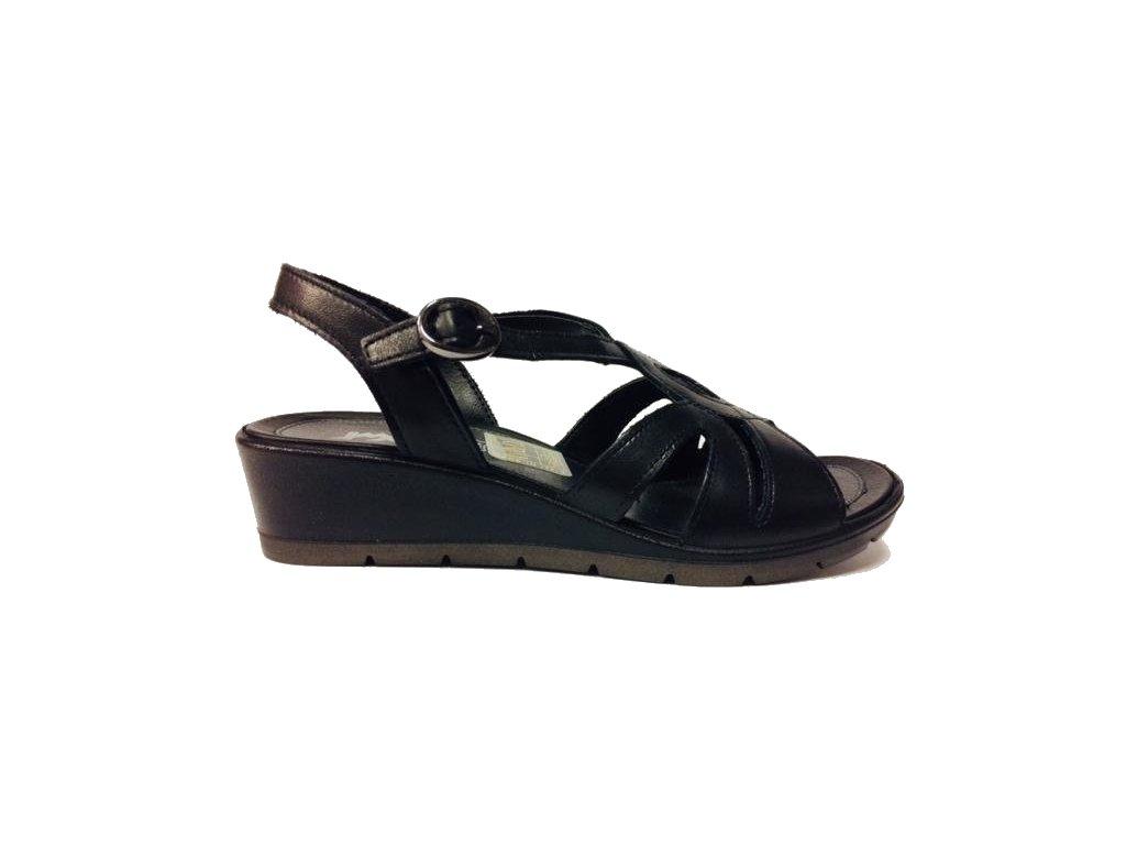 Imac 108700-1400 černé dámské sandále Gruna
