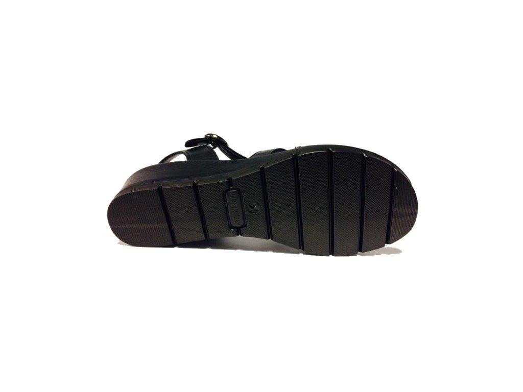 5d0a1a90a69e Imac 108700-1400 černé dámské sandále Gruna - Pohodlná Obuv