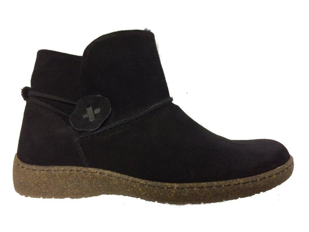 Flex and Go BT0239/01 černé zimní boty