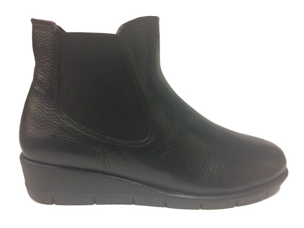 Caprice 9-9-25361-31 černé kotníčkové boty