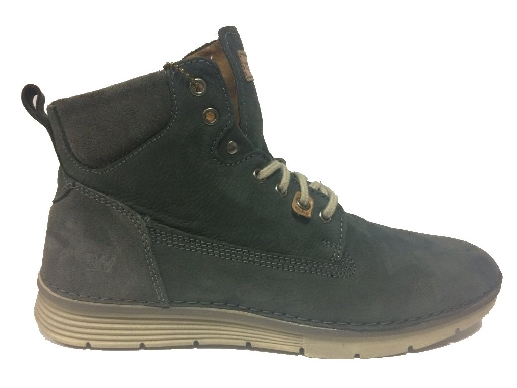 Weinbrenner W2499, pánská modrá obuv