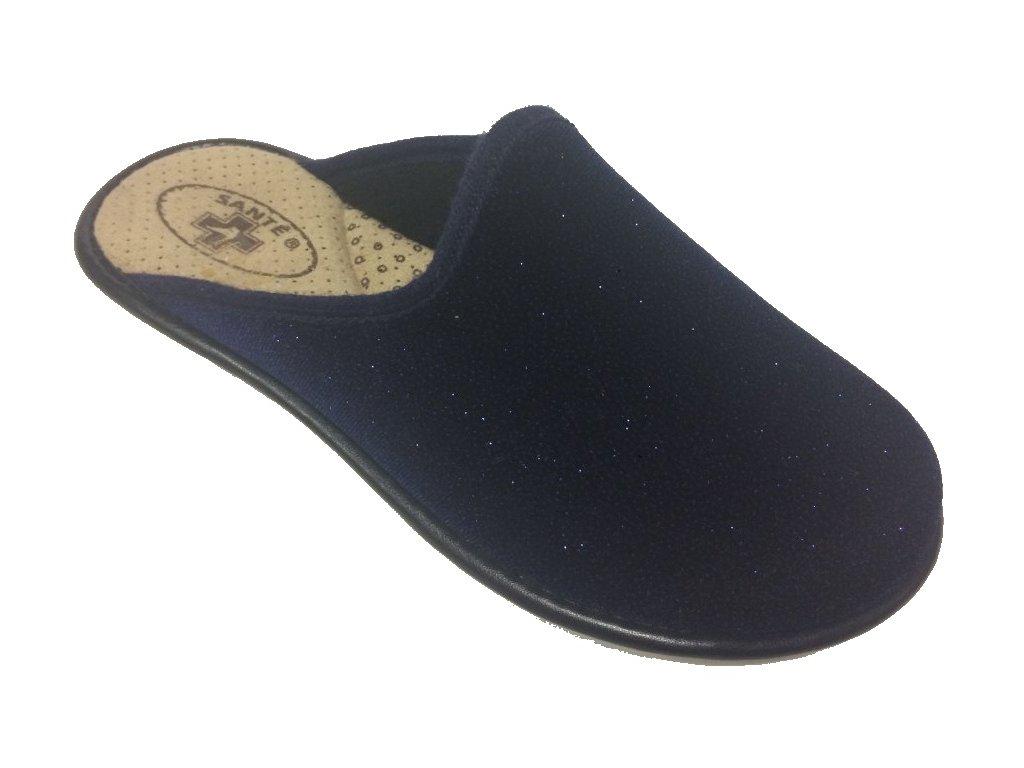 Santé LX/perla Navy domácí pantofle