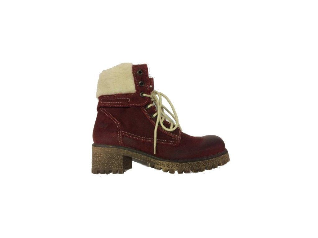 Weinbrenner 2490 kožené zimní boty