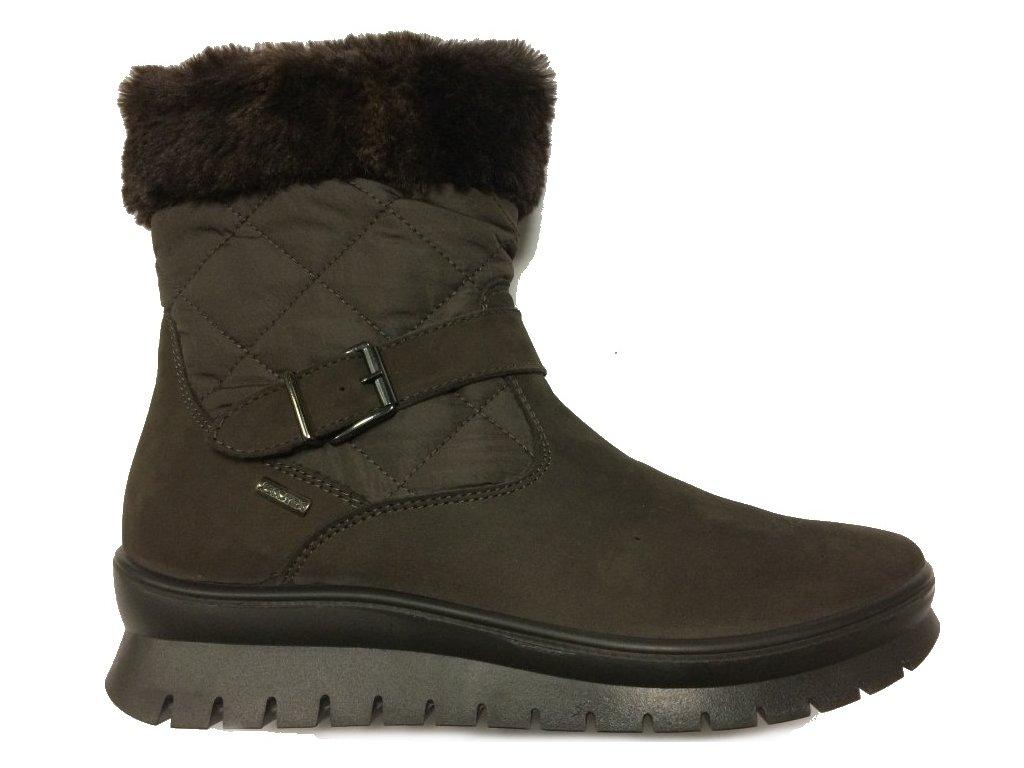 e37bd9dac7f IMAC 208328 hnědé zimní boty 2442 - Pohodlná Obuv