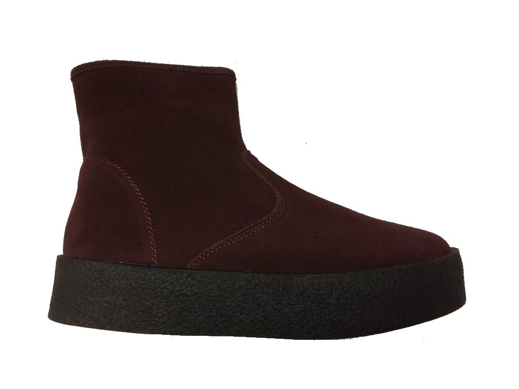 Soft Dreams bordo 10902647429 kotníkové boty Lanson
