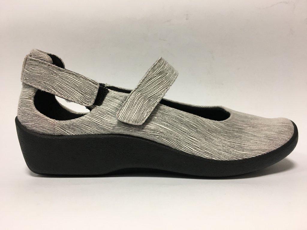Arcopedico 4053D11,černobílá dámská vycházková zdravotní obuv