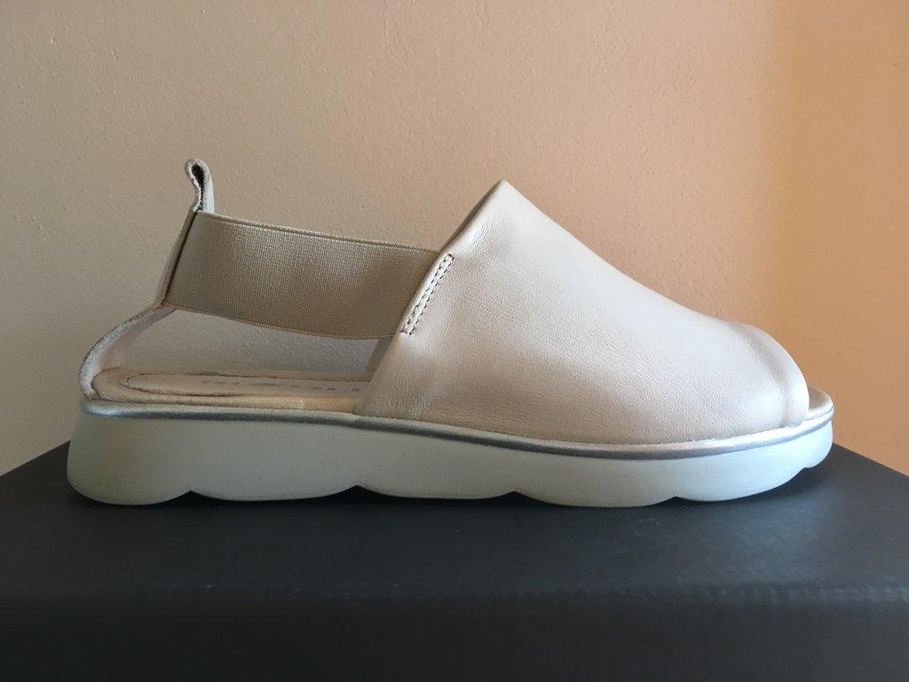 Rizzoli 2403540 béžové pohodlné sandále
