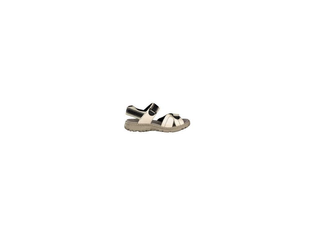 Rieker 67853-60 béžové sportovní dámské sandály
