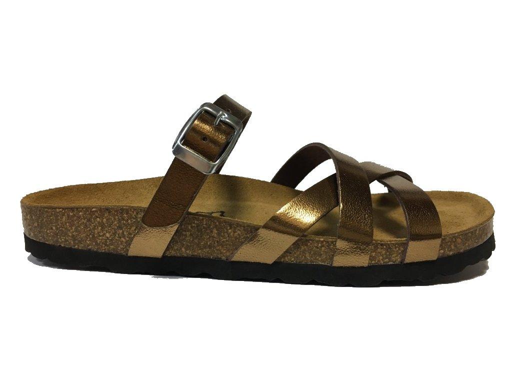 Bio Life 1509 Lia 270 bronze zdravotní pantofle