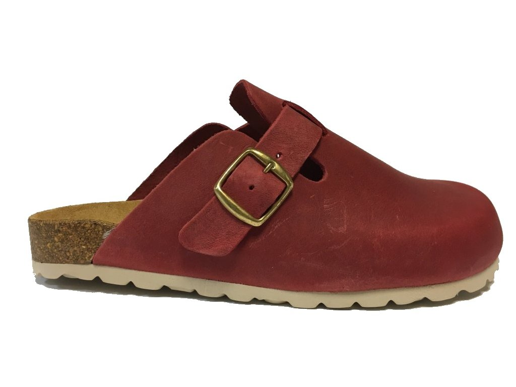 Bio Life 5.376 Samba zdravotní pantofle červená
