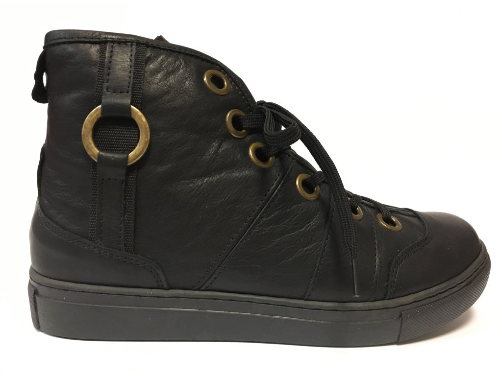 Looke Linette černé kotníkové boty, dámské podzimní