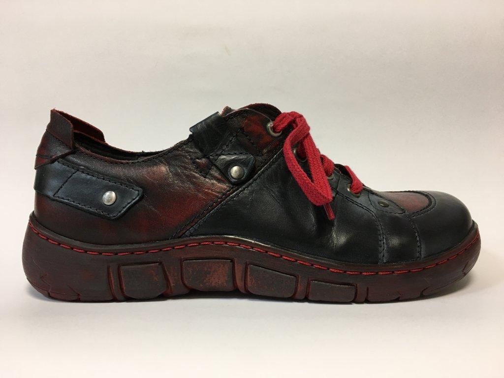 Kacper 2-0188 vycházkové boty s širokou špičkou