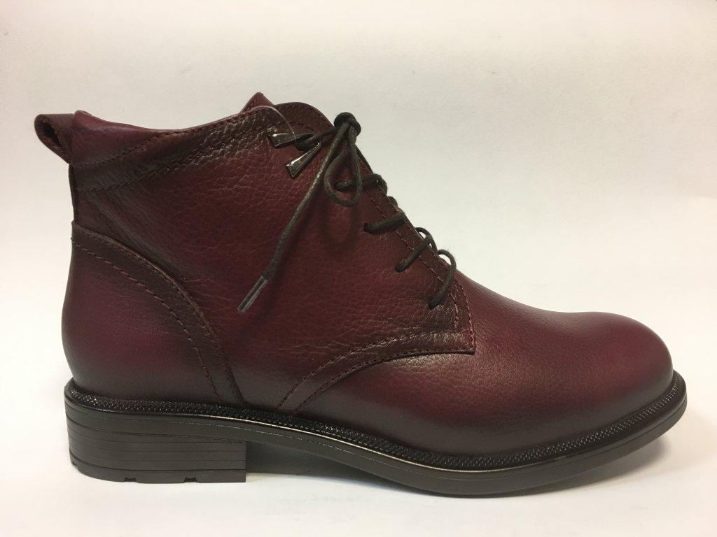 Looke Marquise, kotníkové kožené boty dámské
