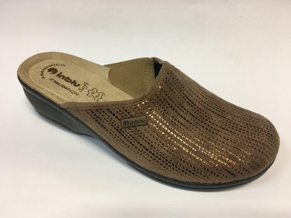 Inblu BJ 103-12 hnědé domácí pantofle