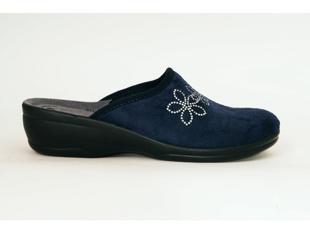 Inblu BJ 108-4 modré domácí pantofle