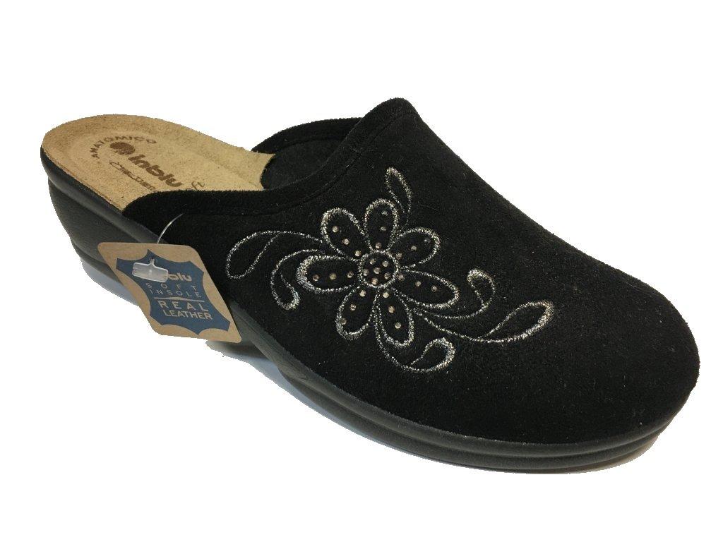 Inblu BJ 100-14 černé domácí pantofle
