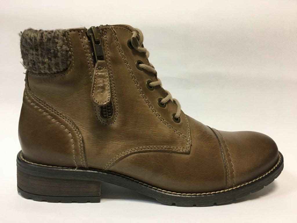 Klondike 727265-WH-021H11 hnědé zimní boty