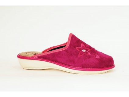Santé LX/214 dámská domácí obuv fuchsia