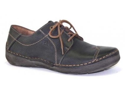 Josef Seibel Fergey 20 pohodlné šedé boty na tkaničku 59692