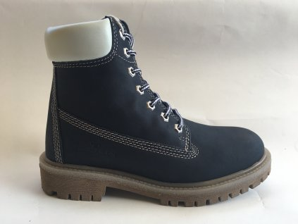 Tom Tailor zimní modré kotníkové boty 9099601