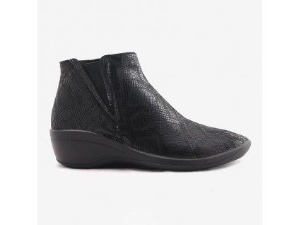 Arcopedico 4284 Luana E11 černé kotníkové boty dámské