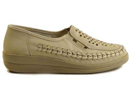 Vycházková obuv letní AGB 74/2700 béžová