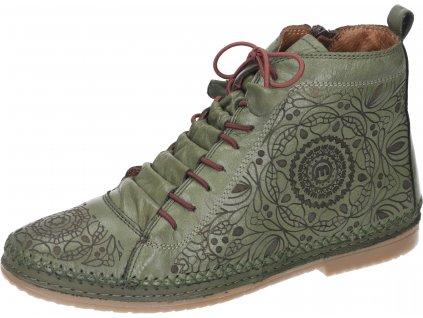 Manitu 990039 07 dámské kotníkové boty zelená